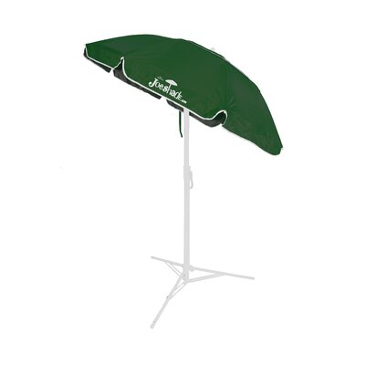 5 Beach Umbrella Color: Green