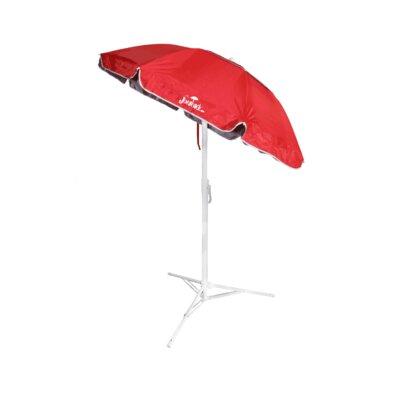 5 Beach Umbrella Color: Red