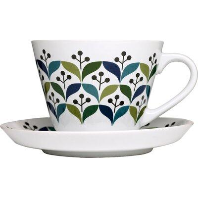 Sagaform Retro Tea Cup with Saucer 5015830