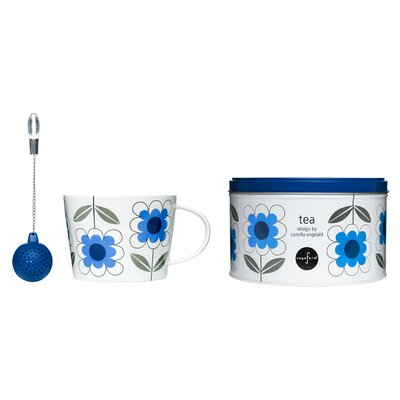 3 Piece Daisy Tea Set 5015361