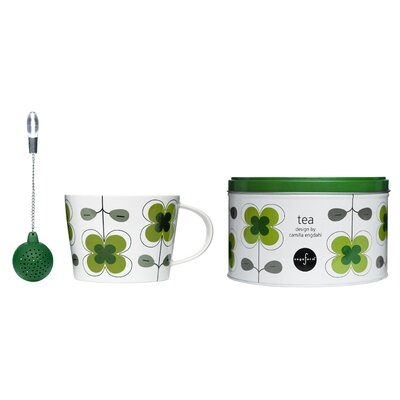 3 Piece Clover Tea Set 5015362