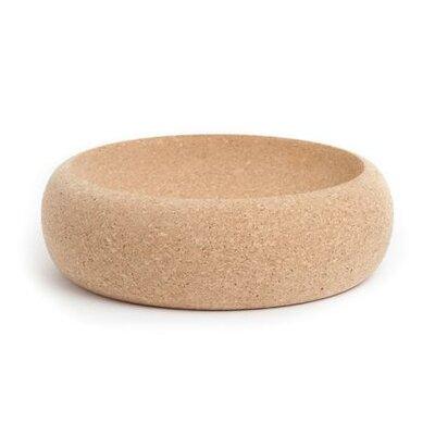 """Pearl I Fill Fine Cork Decorative Bowl Size: 2.4"""" H X 12"""" W X 12"""" D"""