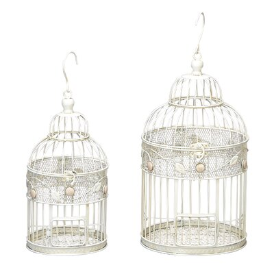 2 Piece Bird Cage Set