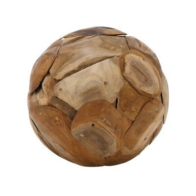Decorative Teak Wood Ball