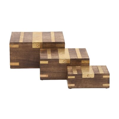 3 Piece Inlay Box Set