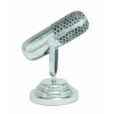 Aluminum Microphone Sculpture