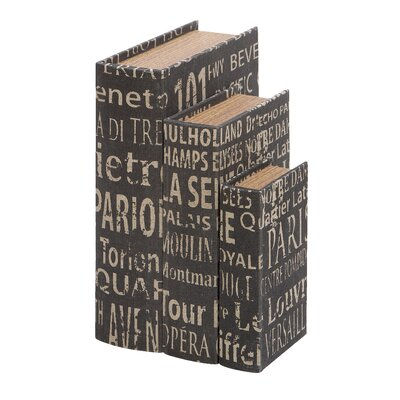3 Piece Book Box Set
