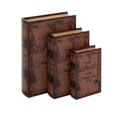 3 Piece Decorative Box Set