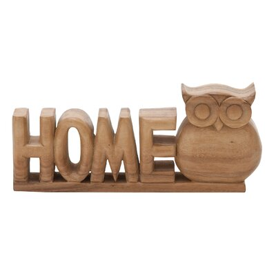 Home Owl Sculpture
