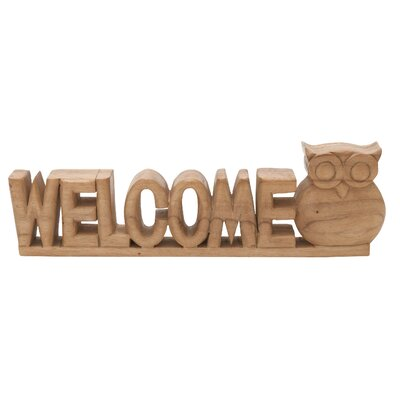 Welcome Owl Sculpture