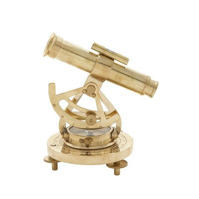 Decorative Brass Alidade Compass