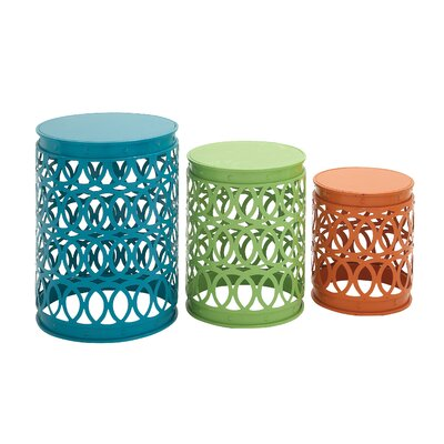 3 Piece Side Table Set