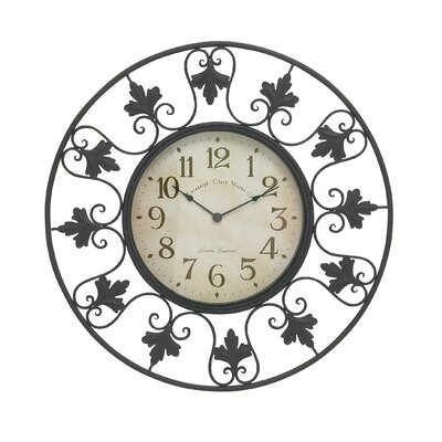 23 Metal Outdoor Wall Clock