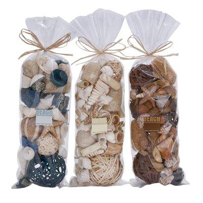 3 Piece Decorative Dried Bag Set