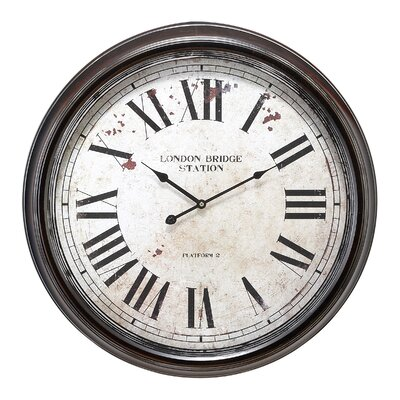 24 Metal Wall Clock