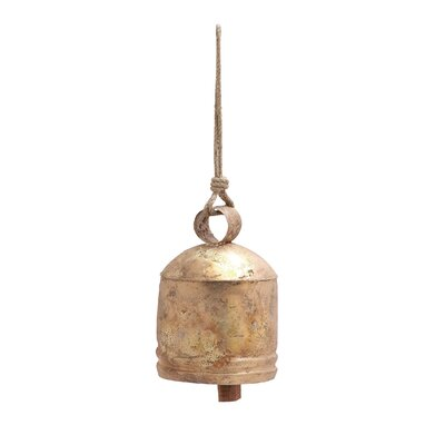 Decorative Metal Bell Figurine