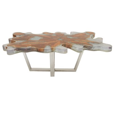Coffee Table Size: 18 H x 47 W x 28 D
