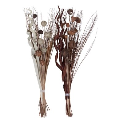 2 Piece Dried Floral Branch Set