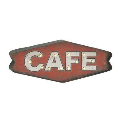 Cafe LED Marquee Sign