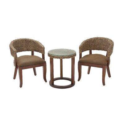 Wood Woven Barrel Chair