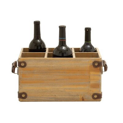 6 Bottle Tabletop Wine Bottle Rack