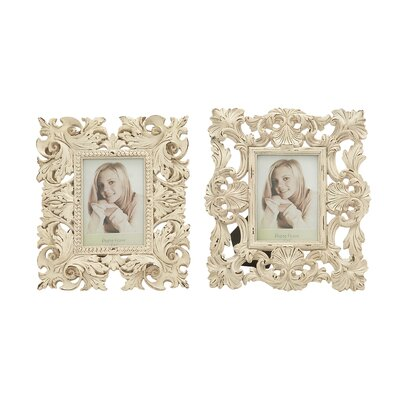 Polystone Picture Frame Set