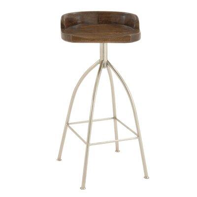 35 Bar Stool Upholstery: Mahogany