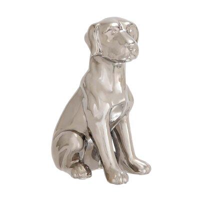 Ceramic Dog Figurine