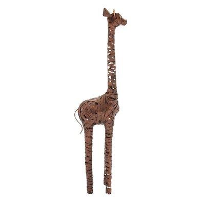 Metal Giraffe Statue Size: 36 H x 8 W x 6 D