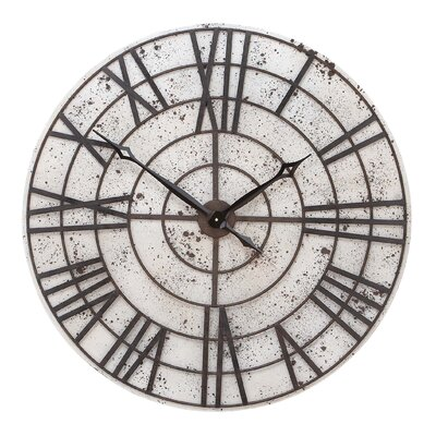32 Metal Wall Clock