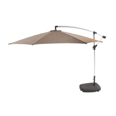 11 Cantilever Umbrella Color: Khaki