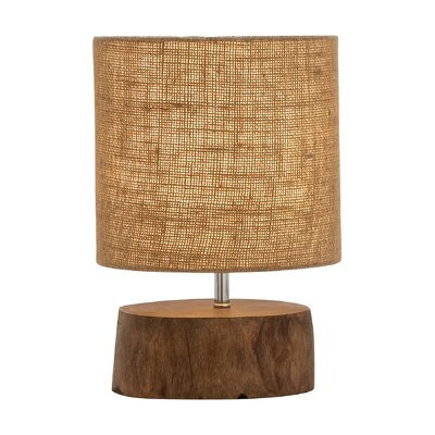 14 Table Lamp Color: Brown Natural Jute
