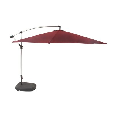11 Cantilever Umbrella Color: Maroon