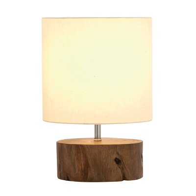 14 Table Lamp Color: Cream Linen