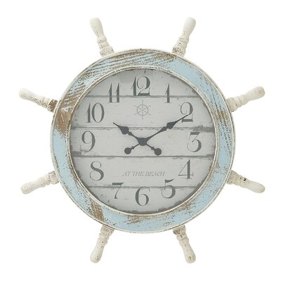 28 Wood Anchor Wall Clock