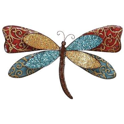 Metal Butterfly Wall Decor 68372