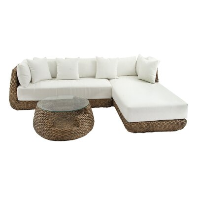 Sectional with Cushions