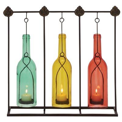 Metal Glass Lantern 55572