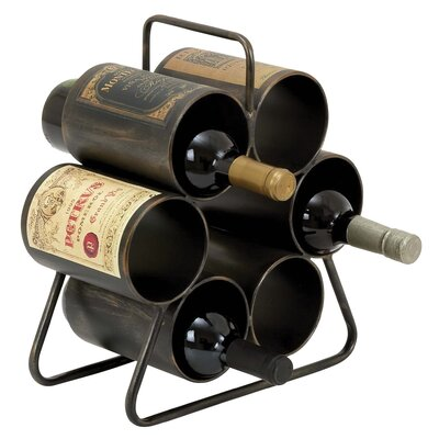 6 Bottle Tabletop Wine Rack