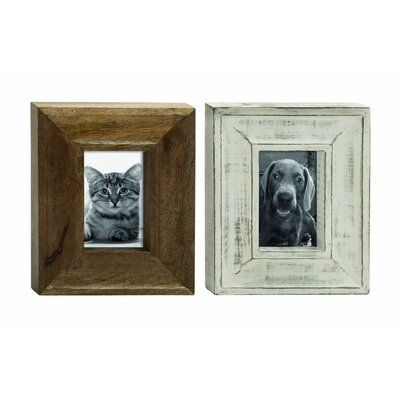 Wood Picture Frame (Set of 2)