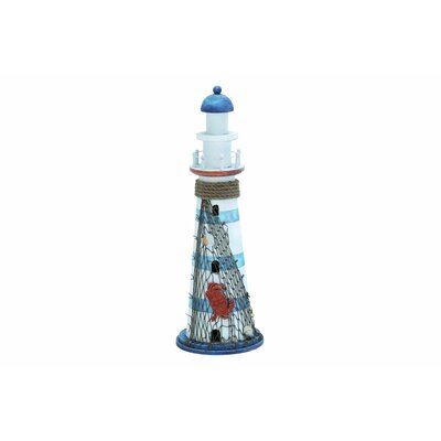 Wood Lighthouse Statue