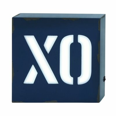 Wood LED XO Wall Décor