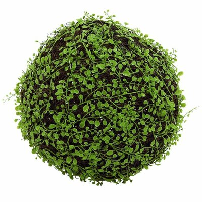 Polyester Vine Grass Decorative Ball Sculpture