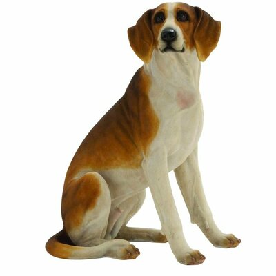 Sitting Dog Statuette 20679