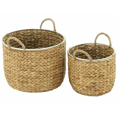 2 Piece Seagrass Basket Set