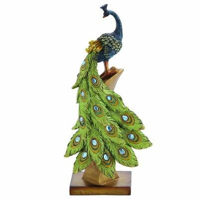 Polystone Peacock Figurine 54939