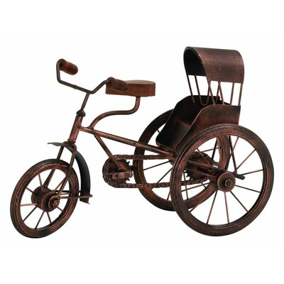 Metal Wood Model Tricycle