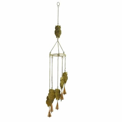 Metal Owl Wind Chime 26788
