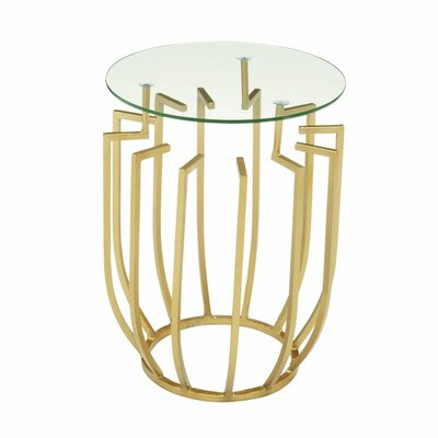 End Table Finish: Gold