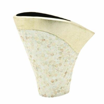 Ceramic Shell Vase 50628